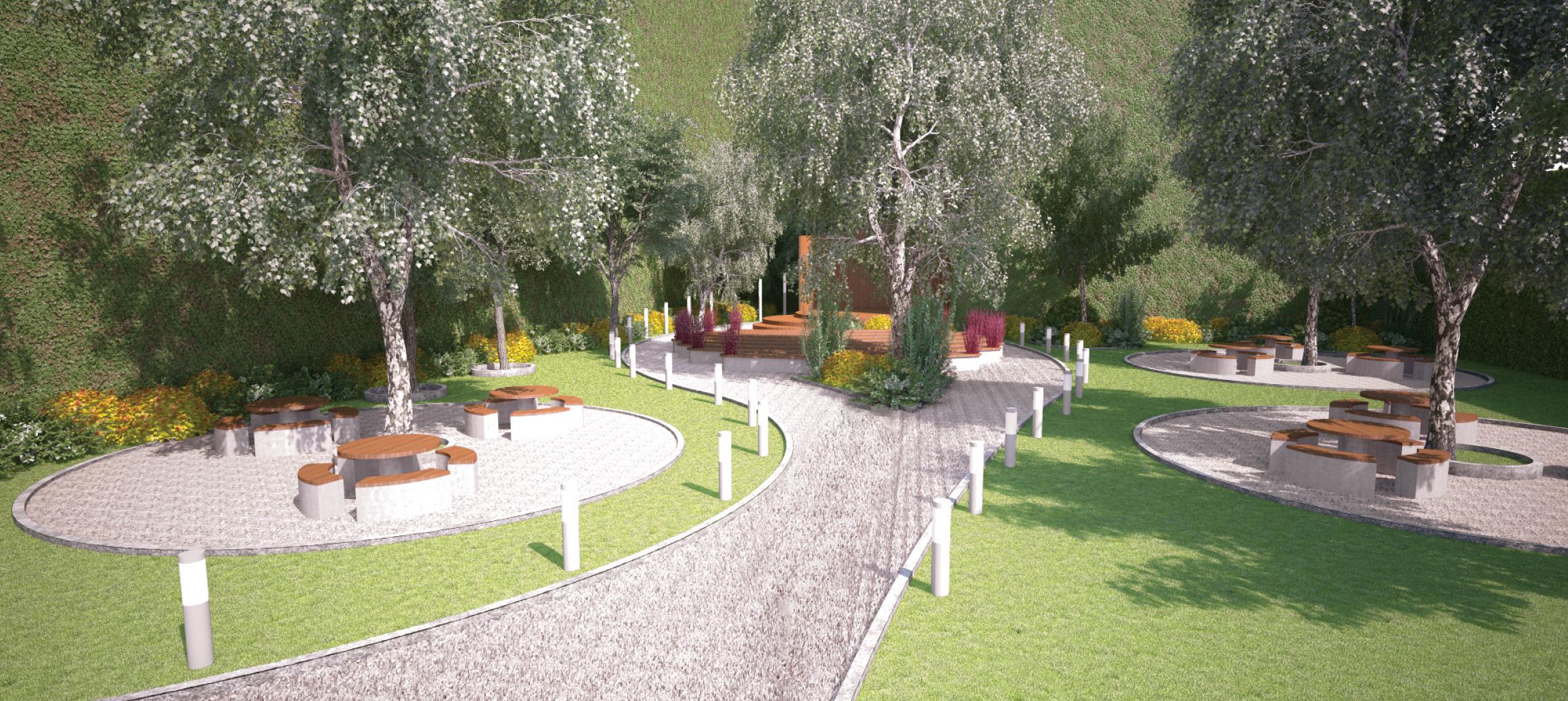 Garden Concept Plan Huska Design
